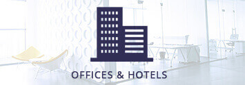 Offices and hotels