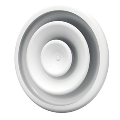 DE100 - Circular diffuser with adjustable air pattern