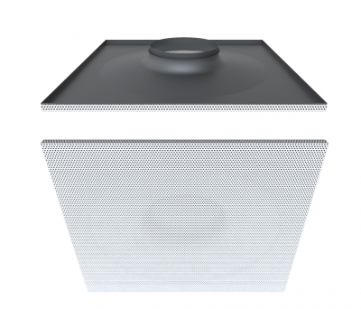DG360 - Perforated ceiling diffuser