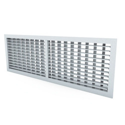 G100 (RAL) - Grille with adjustable vanes