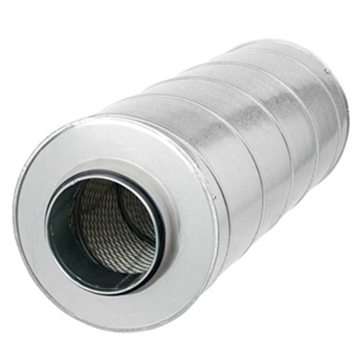 GD - Round sound attenuator