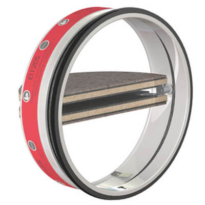 SC+120 - Circular fire damper cartridge