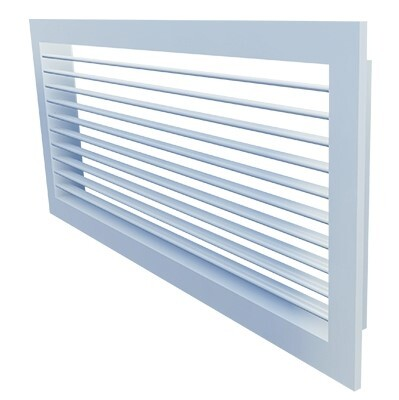 A100 (RAL) - Grille with adjustable vanes