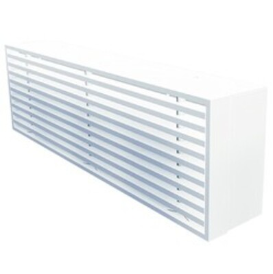 AG300W - Aluminium bar grille for wall mounting without flange