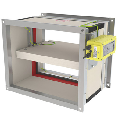 CU2L ATEX - Wide-ranging rectangular fire damper up to 120'