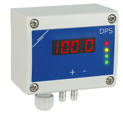 DPS-M - Differential pressure, Air flow sensor with display