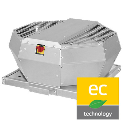 DVA - Roof fan with EC motor