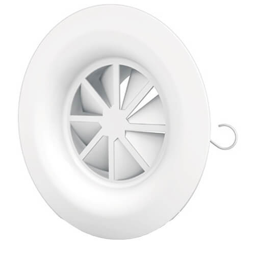 WR250 - Circular swirl diffuser with fixed blades