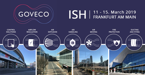 The ISH is coming and the Goveco family will be there from 13 – 15. March.