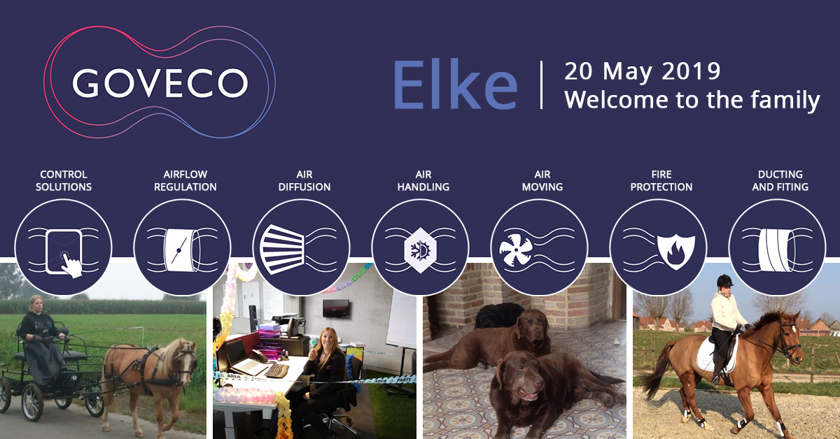 We would like to welcome Elke as our new Office Manager!