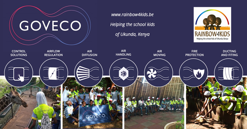 Goveco has a close connection with Rainbow4kids primary school in Kenya for many years now.