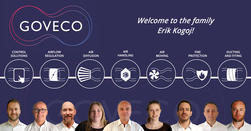 We proudly announce to our Goveco friends that Erik Kogoj has joined Goveco as Sales Manager.