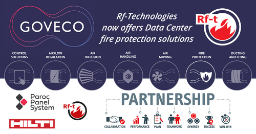 Our partner Rf-Technologies, Hilti and Paroc team up to offer Data Center fire protection solution